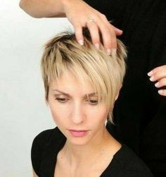 Today we have the most stylish 86 Cute Short Pixie Haircuts. We claim that you have never seen such elegant and eye-catching short hairstyles before. Pixie haircut, of course, offers a lot of options for the hair of the ladies'… Continue Reading → Thin Hair Haircuts, Short Pixie Haircuts, Pixie Haircut Thin Hair, Short Hair Cuts For Women Pixie, Thin Hairstyles, Stylish Hairstyles, Older Women Hairstyles, Creative Hairstyles, Short Cuts