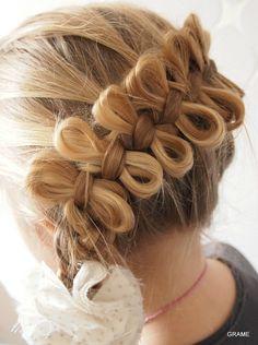 Tresse, tresse africaine, papillons, coiffure, cheveux, mariage, cérémonie, tuto