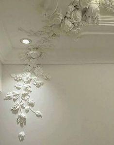 Wonderful False Ceiling Design Modern Ideas - All About Decoration Plaster Art, Plaster Walls, Plaster Crafts, Plafond Design, False Ceiling Living Room, False Ceiling Design, Wall Sculptures, Wall Design, Wall Murals