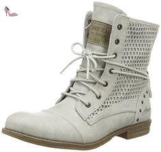 Mustang 1157-542, Bottes Classiques Femme, Blanc Cassé (203 Ice), 41 EU - Chaussures mustang (*Partner-Link)