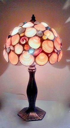 Neat homemade lamp shells