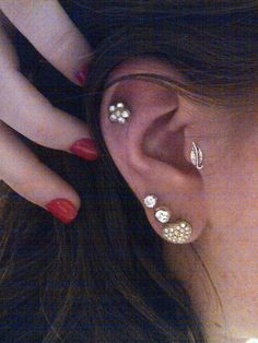 Cute-I like he cartilage and surprisingly the tragus too