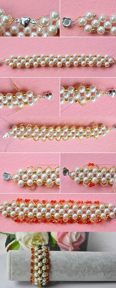 Beaded bracelet, wanna it? LC.Pandahall.com will release the tutorial soon.
