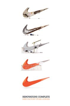 Renovations complete. Nike Factory Store Auburn. Nike Ad by US