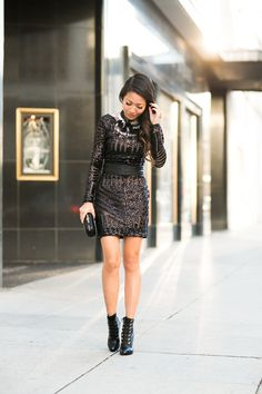 Holiday Edge :: Sequin dress