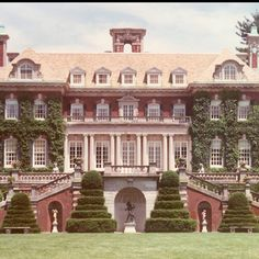 Gatsby House, it was large and he bought it right across the street from daisy so that he could be close to her and kind of show off that he has the money