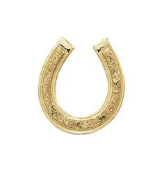 14k Gold Small Horseshoe Pendant * Read more reviews of the product by visiting the link on the image.