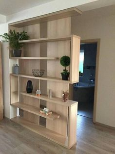 Ideas For Ikea Living Room Furniture Closet - Ikea DIY - The best IKEA hacks all in one place Living Room Partition Design, Living Room Divider, Room Partition Designs, Living Room Decor, Room Divider Ideas Bedroom, Room Partition Wall, Wood Partition, Ikea Living Room Furniture, Home Furniture
