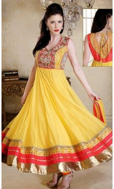 Aesthetic Pale Yellow Salwar Kameez