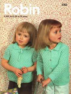 Children and Young Baby Patterns, Knitting Patterns, Crochet Patterns, Vintage Knitting, Baby Knitting, Jumper Outfit, Sweater Jacket, Quick Knits, The Cardigans
