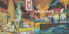 Batcave, why I love thee! by the Dork Winning The Lottery, Batcave, Love, Facts, Painting, Amor, Painting Art, Paintings, Painted Canvas
