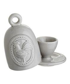 Rooster Egg Cup & Warmer #zulily #zulilyfinds