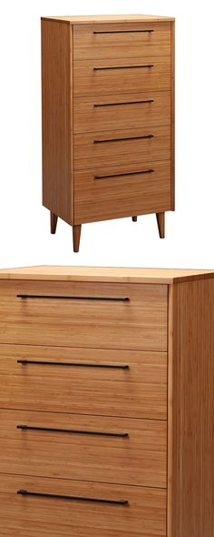 The Staccato High Chest delivers an unusual design element. We love the warmth of its caramelized finish over chic bamboo, as well as decorative touches including vertical drawer pulls in black stainle...  Find the Staccato High Chest, as seen in the Bedroom Refresh Sale: Dressers & Nightstands Collection at http://dotandbo.com/collections/january-bedding-sale-dressers-and-nightstands?utm_source=pinterest&utm_medium=organic&db_sku=117803