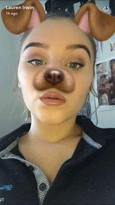 On Lauren's Snapchat