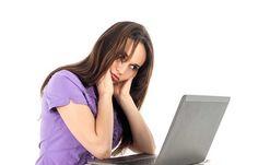 Free Image on Pixabay - Girl, Computer, Work, Fatigue Computer Vision, Slow Computer, Adrenal Fatigue, Chronic Fatigue, Chronic Pain, Fibromyalgia, Computer Problems, Wedding Stress, Burn Out