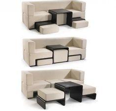 Los 8 mejores muebles multifuncionales para un hogar pequeño - #decoracion #homedecor #muebles