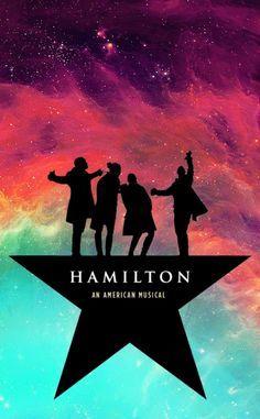 Rainbow Galaxy Hamilton Wallpaper