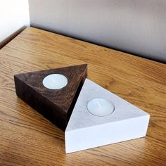 Items similar to Personalized Candle Holders,Geometric Wood Tea Light Holder,Candle Holders,Taper Candle Holders, Wooden Candle Holders on Etsy