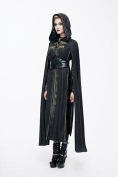 Women S Fashion Shoulder Bags Black Women Fashion, Dark Fashion, Gothic Fashion, Womens Fashion, Moda Steampunk, Estilo Dark, Fantasy Dress, Medieval Clothing, Character Outfits