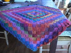 Crochet Entrelac Baby Blanket 3 photo by cerdeb0317