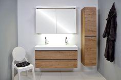 INK  40 UNIT greeploos alu  keerlijst - unit - hout - greeploos - poselein - badkamer - wastafel - ink - spiegelkast - badjas - sanibell - badmeubel - badkamermeubel