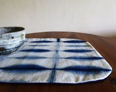 Shibori and indigo at TextileBlue on Etsy. Hand-dyed and hand-crafted.  https://www.etsy.com/shop/TextileBlue?ref=hdr_shop_menu