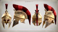 Assassins Creed Art, Assassins Creed Odyssey, Ancient Greek Art, Ancient Greece, Armor Concept, Concept Art, Greek Warrior, Spartan Warrior, Armadura Medieval