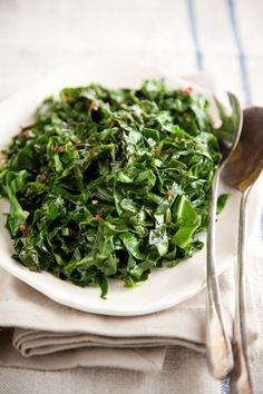 Quick Collard Green Saute