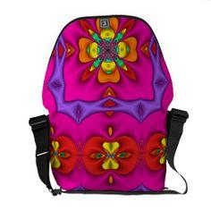 Neon Messenger Bag