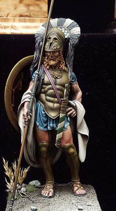Greek hoplite Classical Greek era, circa 500-450 B.C.