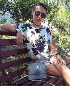 OOTD: Bluza si choker de la Zaful