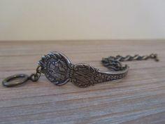 North Carolina Souvenir Spoon Bracelet by georginabaker on Etsy, $30.00