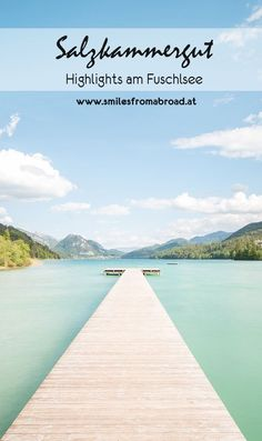 The Fuschlsee in the Salzkammergut is not without reason one of the most beautiful lakes in the region around Upper Austria and Salzburg. My excursion tips for the region Fuschlsee Places To Travel, Places To See, Bad Gyal, Austria Travel, Camping Photography, Weekend Trips, Outdoor Travel, Travel Around The World, Travel Usa