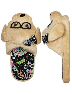 justice slippers - Abby loves hers!  Unfortunately, Rizzo really likes these too!
