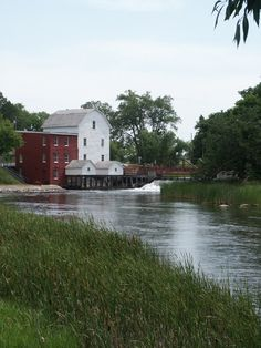 Phelps Mill and Bridge; Otter Tail County, Minnesota