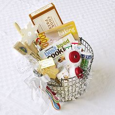 Cookie Decorator's Delight & nine other gift basket ideas