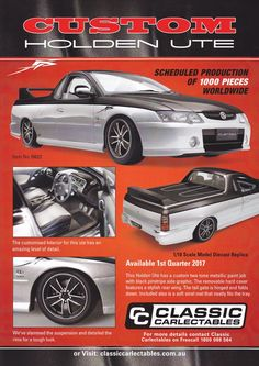 Model features opening doors and bonnet to reveal detailed engine. Comes with certificate of authenticity. Limited Edition of 750 Holden Commodore, Scale Models, Authenticity, Certificate, Diecast, Engineering, How To Remove, Australia, Doors