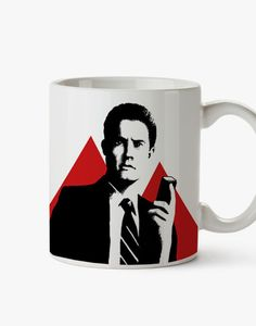 David Lynch's Mug Tribute. Twin Peaks  Cooper's Agent. by BagApart