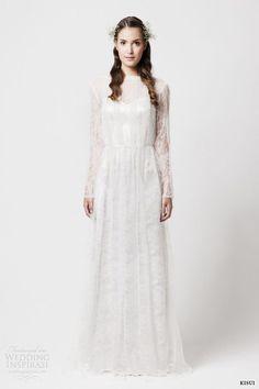 kisui 2014 aletta long sleeve lace wedding dress