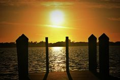Sunrise at Bowditch Point on Estero Island in Florida