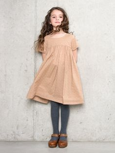 short sleeve Oliver + S Playtime Dress + dark tights