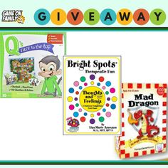 Games for 3-12 Yrs Giveaway: 3 Children's Games! ends 7/2/18 #kids #eq