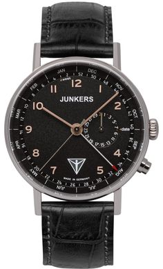 Junkers Watch Eisvogel F13 #2015-2016-sale #bezel-fixed #black-friday-special #bracelet-strap-leather #brand-junkers #case-depth-10mm #case-material-steel #case-width-40mm #classic #date-yes #delivery-timescale-1-2-weeks #dial-colour-black #gender-mens #movement-quartz-battery #official-stockist-for-junkers-watches #packaging-junkers-watch-packaging #sale-item-yes #style-dress #subcat-eisvogel-f13 #supplier-model-no-6734-5 #vip-exclusive #warranty-junkers-official-2-year-guarantee…