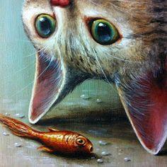 Cats / Gatos / Cats / Chats / Gattos / Katze: animiaus illustrated
