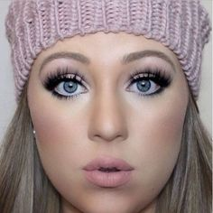 Naked Winter :snowflake: Eyes: /maccosmetics/ Naked Pigment, Nude Eyeshadow, Shimma Shimma and Corrupt Eyeshadow, Creme Brûlée Eyeshadow, /nyxcosmetics/ Jumbo Pencil in Milk Honeymoon Blush Lips: in Pure Hollywood and Milkshake. Makeup Geek, Makeup Tips, Beauty Makeup, Hair Makeup, Beauty Box, Makeup Tutorials, Miss Manga Mascara, Pure Hollywood, Strobe Cream