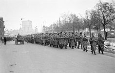 Defence Of Moscow. Militia fighters act to protect Moscow. October. 1941
