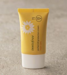 Perfect UV protection cream triple care SPF50  PA   ::A multifunctional, waterresistant UV protection cream that is smooth to the touch without being sticky and lasts for hours.