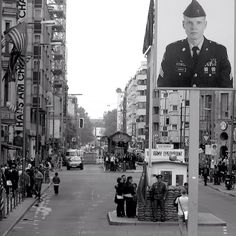 Check Point Charlie - Berlin taken by me with my Leica camera