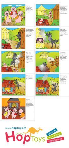 #Télécharger Album 3 petits cochons #Gotalk http://www.hoptoys.fr/GO-TALK-9+-p-1268-c-854_858.html