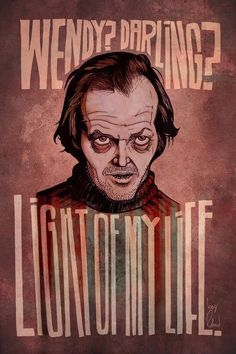 The Shining Poster! Stanley Kubrick, Horror Films, Horror Art, Funny Horror, Scary Movies, Great Movies, Halloween Movies, Halloween Horror, Jack Nicholson